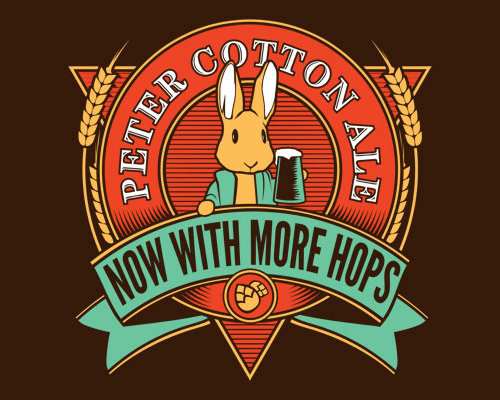 Peter Cottontail Ale Easter Beer T-Shirt