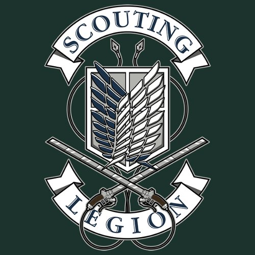 Scouting Legion Attack on Titan Survey Corps T-Shirt