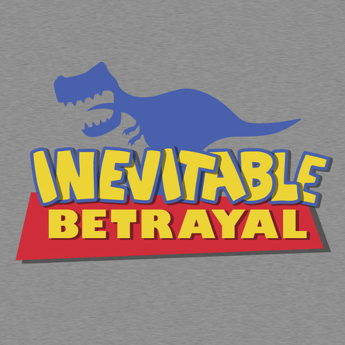 Toy Story Firefly Inevitable Betrayal Rex T-Shirt