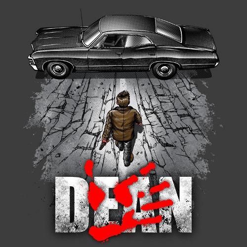 Dean Winchester Akira Impala Supernatural T-Shirt