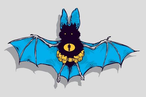 Manbat Batman Bat Hero T-Shirt