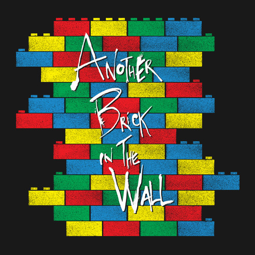 Lego Brick In The Wall Pink Floyd T-Shirt