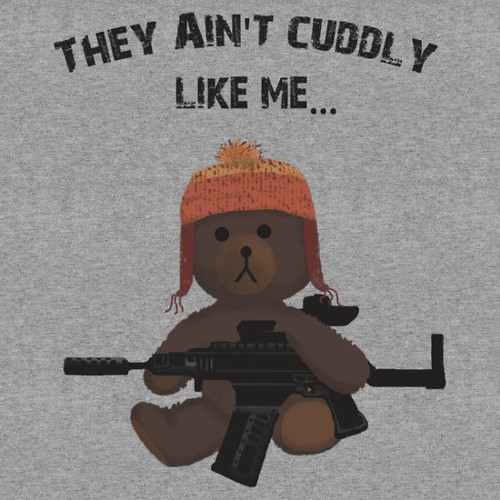 Cuddly Jayne Cobb Firefly Teddy Bear T-Shirt