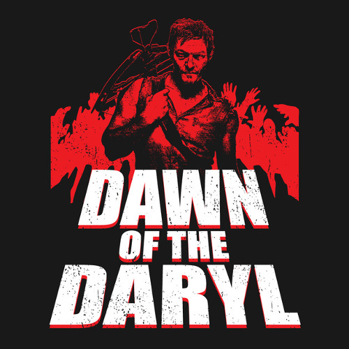 Dawn of the Dead Daryl Dixon Walking Dead T-Shirt