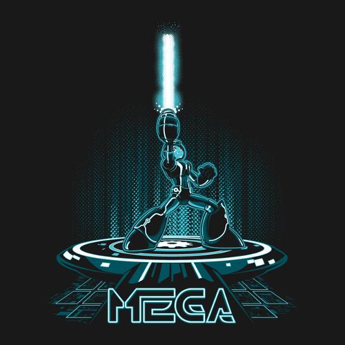 Mega Man Tron T-Shirt
