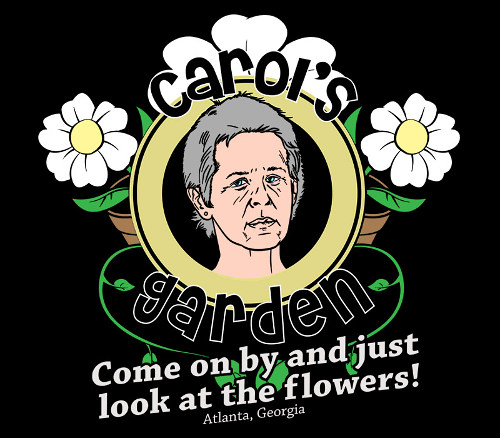 Carol's Garden Look At The Flowers Walking Dead T-Shirt