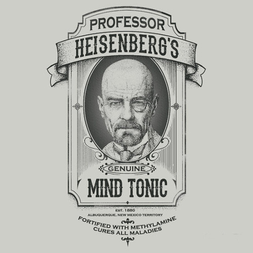 Professor Heisenberg's Mind Tonic Breaking Bad T-Shirt