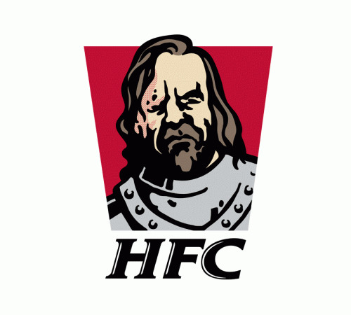 HFC Hound Fried Chicken Game of Thrones KFC Funny T-Shirt