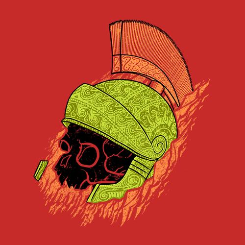 Marvin the Martian Ancient Artifact Helmet Looney Tunes Alien T-Shirt
