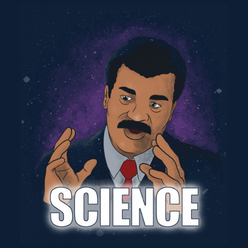 Science Neil deGrasse Tyson Cosmos Meme T-Shirt