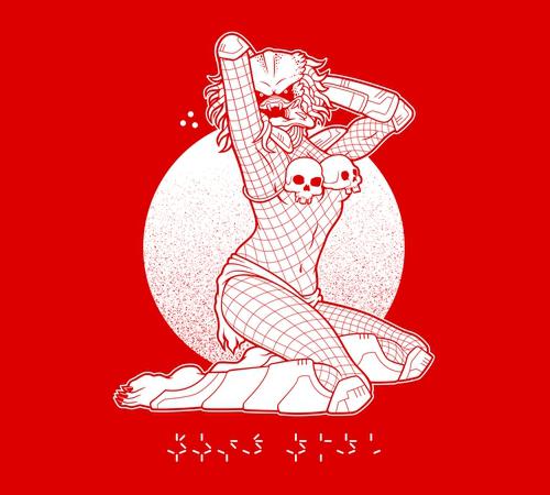 Sexual Predator Sexy Pinup Girl T-Shirt