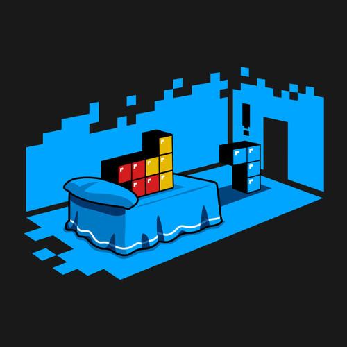 Sextris Tetris Sex Affair T-Shirt