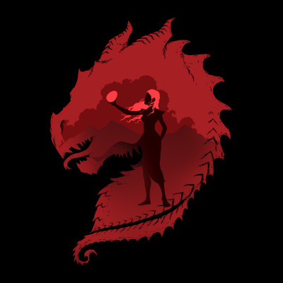 The Dragon Daenerys Targaryen Game of Thrones T-Shirt