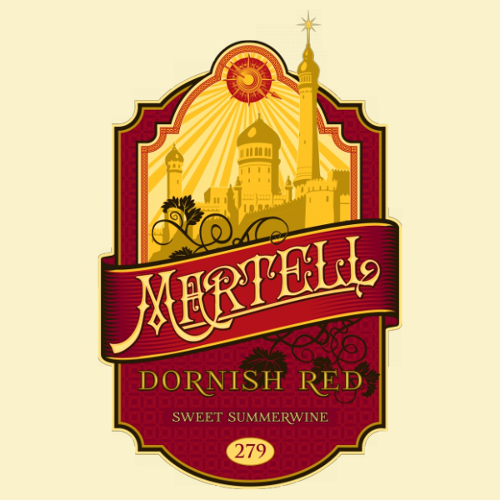 Martell Dornish Red Wine Game of Thrones T-Shirt