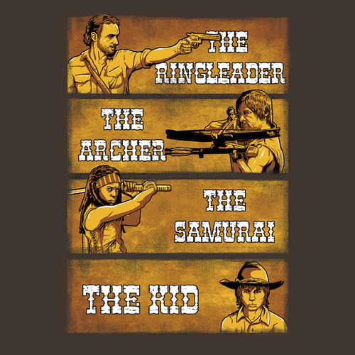 The Walking Dead Good Bad Ugly T-Shirt