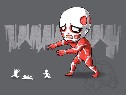 Attack on Titan Play With Me Funny T-Shirt