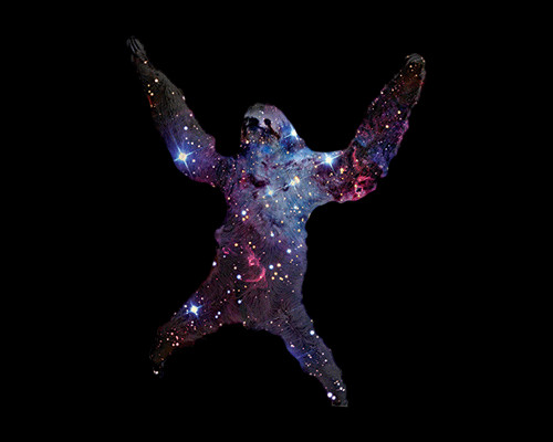 Sloth Nebula Galaxy Stars Space T-Shirt