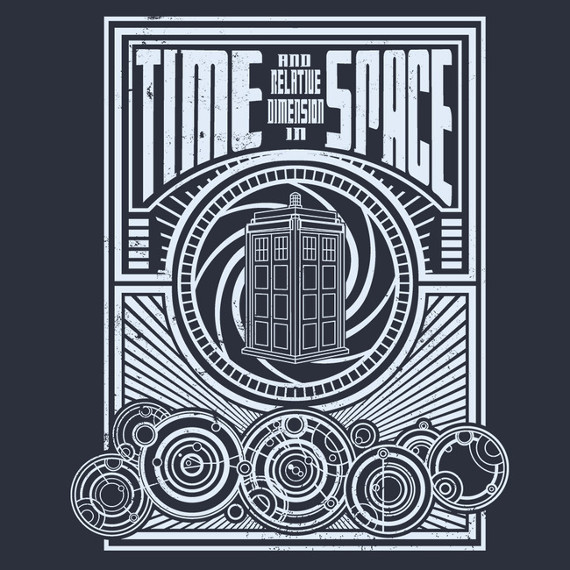 Time and relative dimension in space shirtigo for Dimensions of space and time