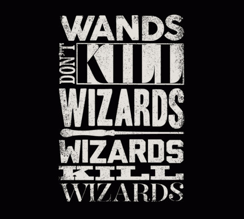 Wands Don't Kill Wizards Wizards Kill Wizards T-Shirt