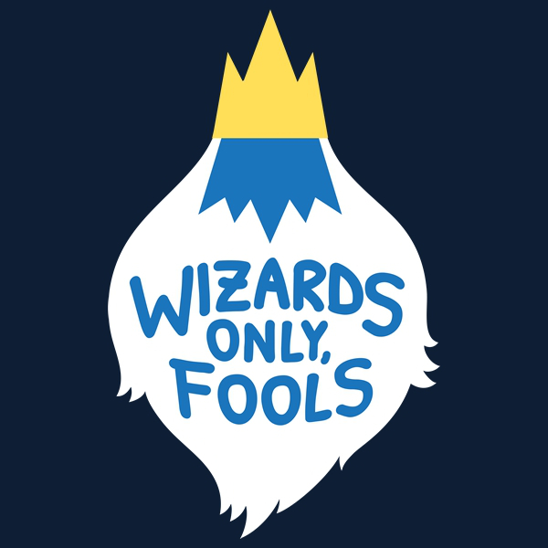 Wizards Only, Fools Adventure Time Ice King T-Shirt
