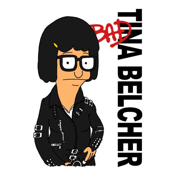 Bad Tina Belcher Bob's Burgers Michael Jackson T-Shirt