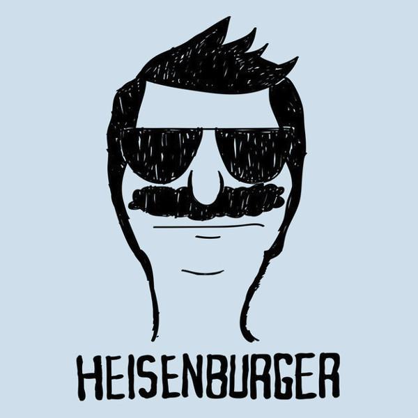 Heisenburger Bob's Burgers Heisenberg Breaking Bad T-Shirt