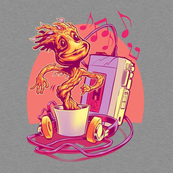 Groot Groovin' Guardians of the Galaxy T-Shirt