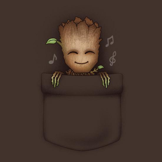 23fd68e547 Groot In My Pocket