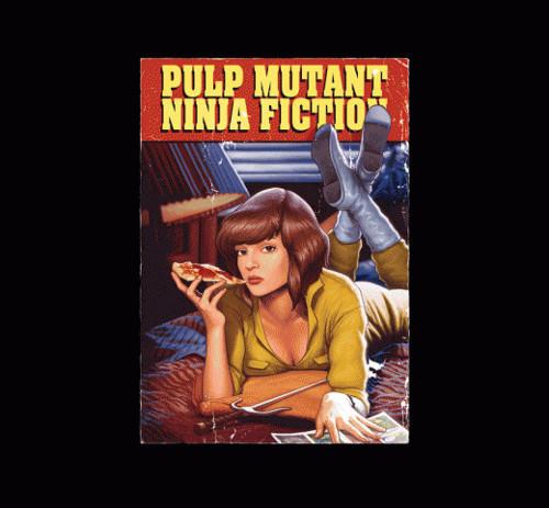 Teenage Mutant Ninja Turtles Pulp Fiction T-Shirt