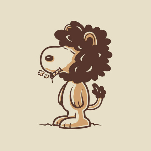 Snoopy Snoop Dogg Lion T-Shirt