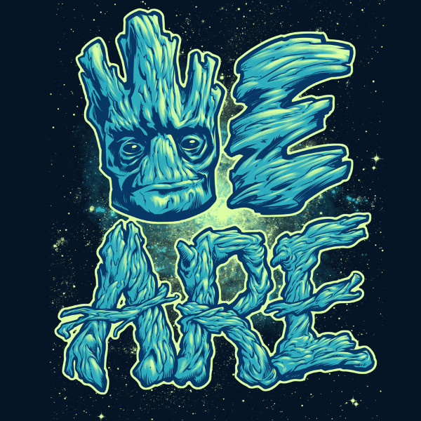We Are Groot Guardians of the Galaxy T-Shirt