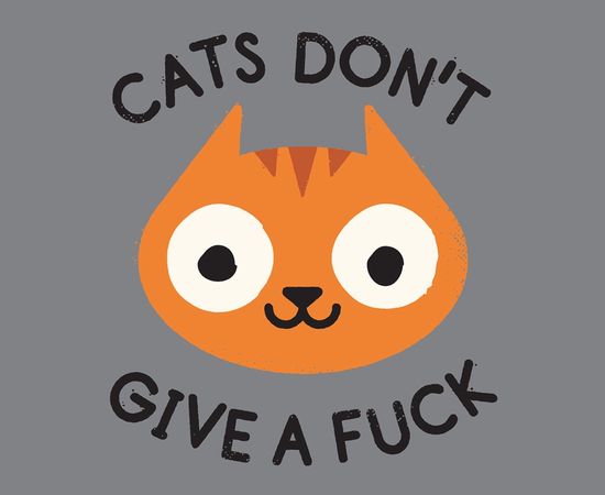 Cats Don't Give A Fuck T-Shirt