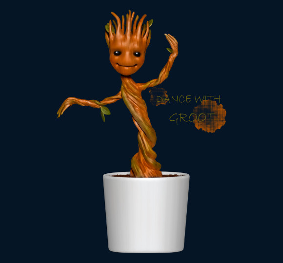 Dance With Groot Guardians of the Galaxy