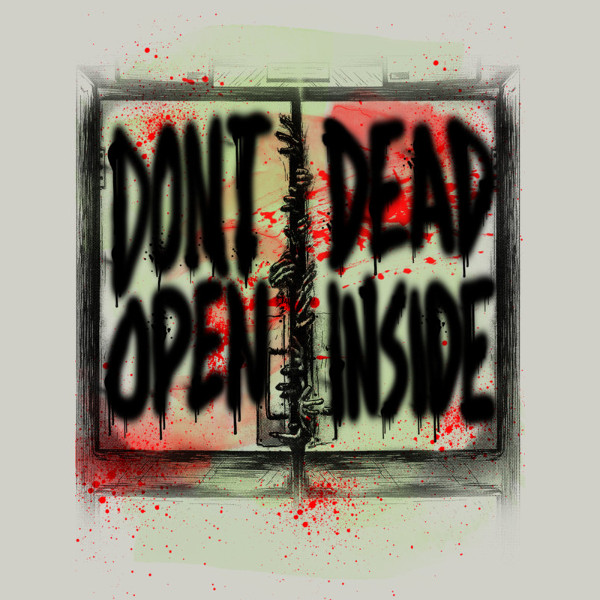 Don't Open Dead Inside Walking Dead T-Shirt