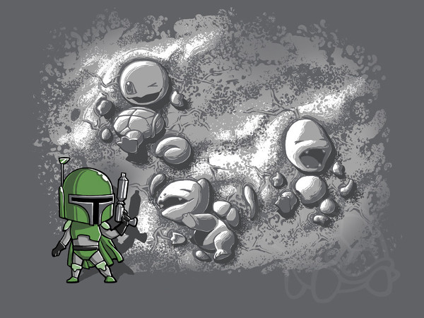 Boba Fett Pokemon Hunter T-Shirt