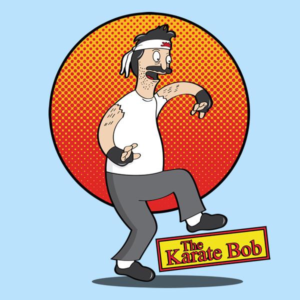 The Karate Kid Bob's Burgers T-Shirt