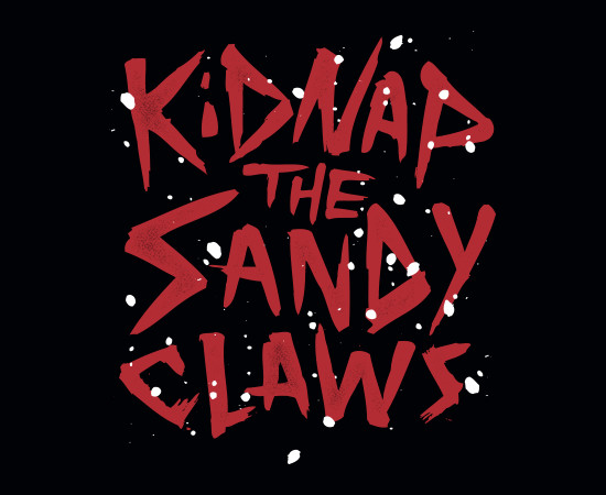 Kidnap The Sandy Claws Nightmare Before Christmas T-Shirt