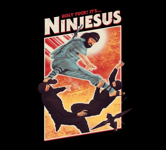 Ninja Jesus T-Shirt