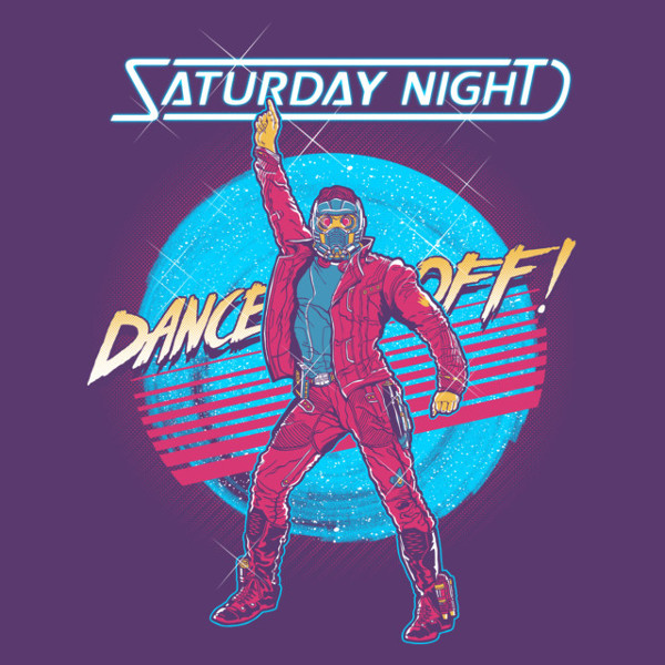 Saturday Night Dance-Off Star Lord Guardians of the Galaxy T-Shirt