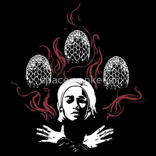 Daenerys Targaryen Bohemian Rhapsody Game of Thrones Queen T-Shirt
