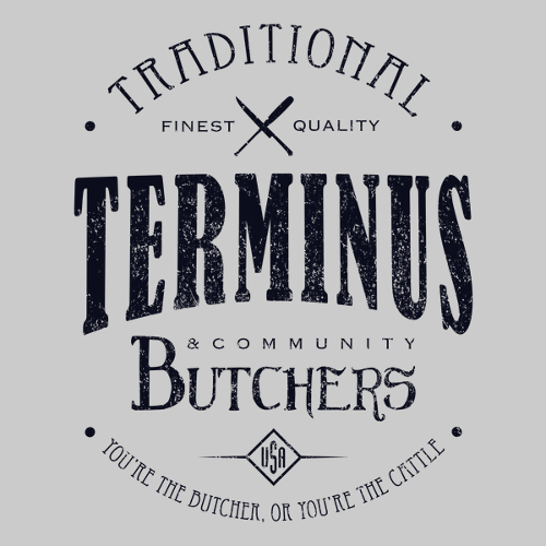 Terminus Butchers Walking Dead T-Shirt