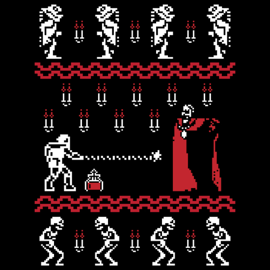 Castlevania Christmas Sweater T-Shirt