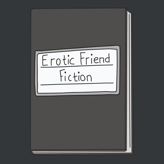 Erotic Friend Fiction Tina Bob's Burgers T-Shirt