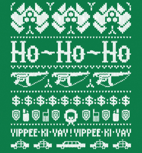 Die Hard Christmas Holiday Sweater T-Shirt