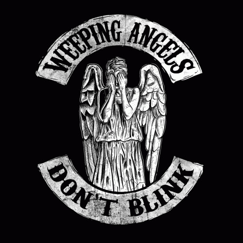 Weeping Angels Sons of Anarchy Doctor Who T-Shirt