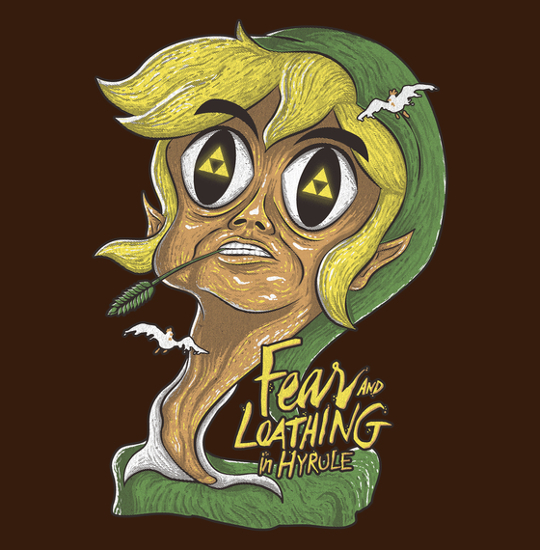 Fear and Loathing Legend of Zelda T-Shirt