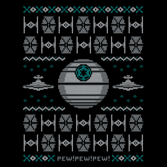 Star Wars Imperial Christmas Sweater T-Shirt