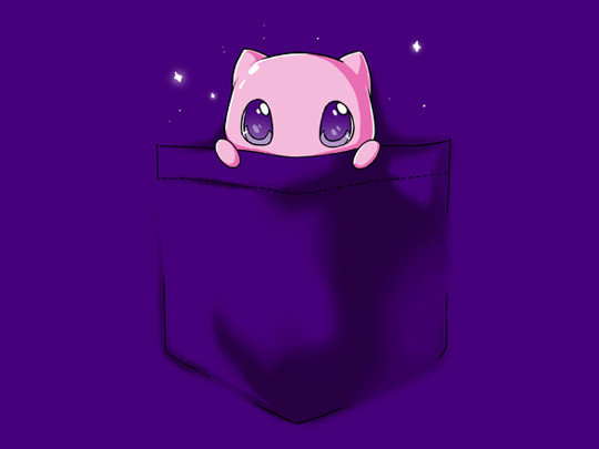 Mew Pocket Legendary Pokemon T-Shirt