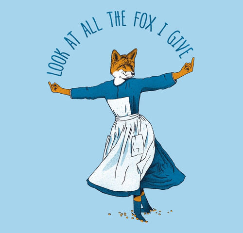 Look At All The Fox I Give T-Shirt