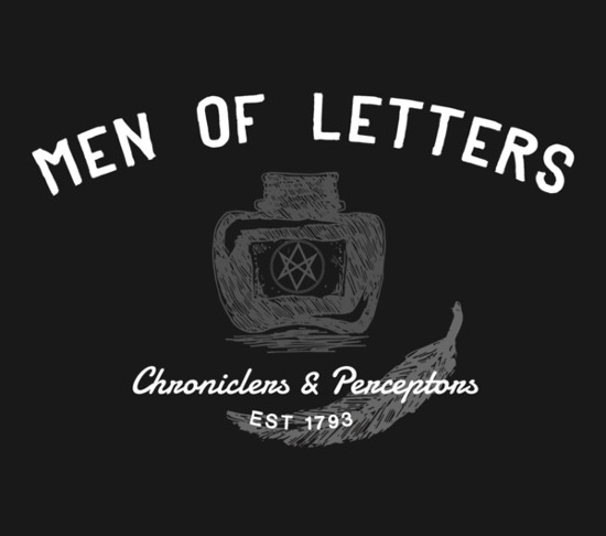 Men of Letters Supernatural T-Shirt